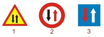 Biển nào báo hiệu đường hai chiều?