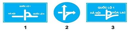 Biển nào báo hiệu cầu vượt liên thông?