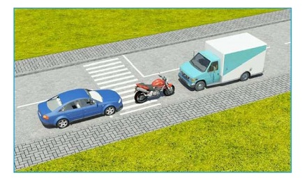 Xe nào đỗ vi phạm quy tắc giao thông?