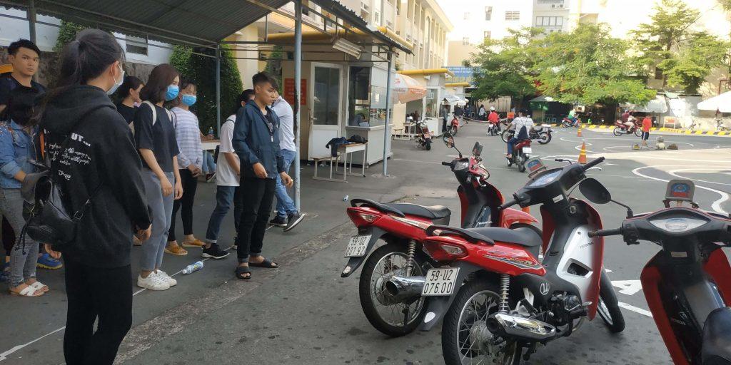 Hồ sơ thi bằng lái xe máy cần những gì?