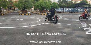 Hồ sơ thi bằng lái xe mô tô A2
