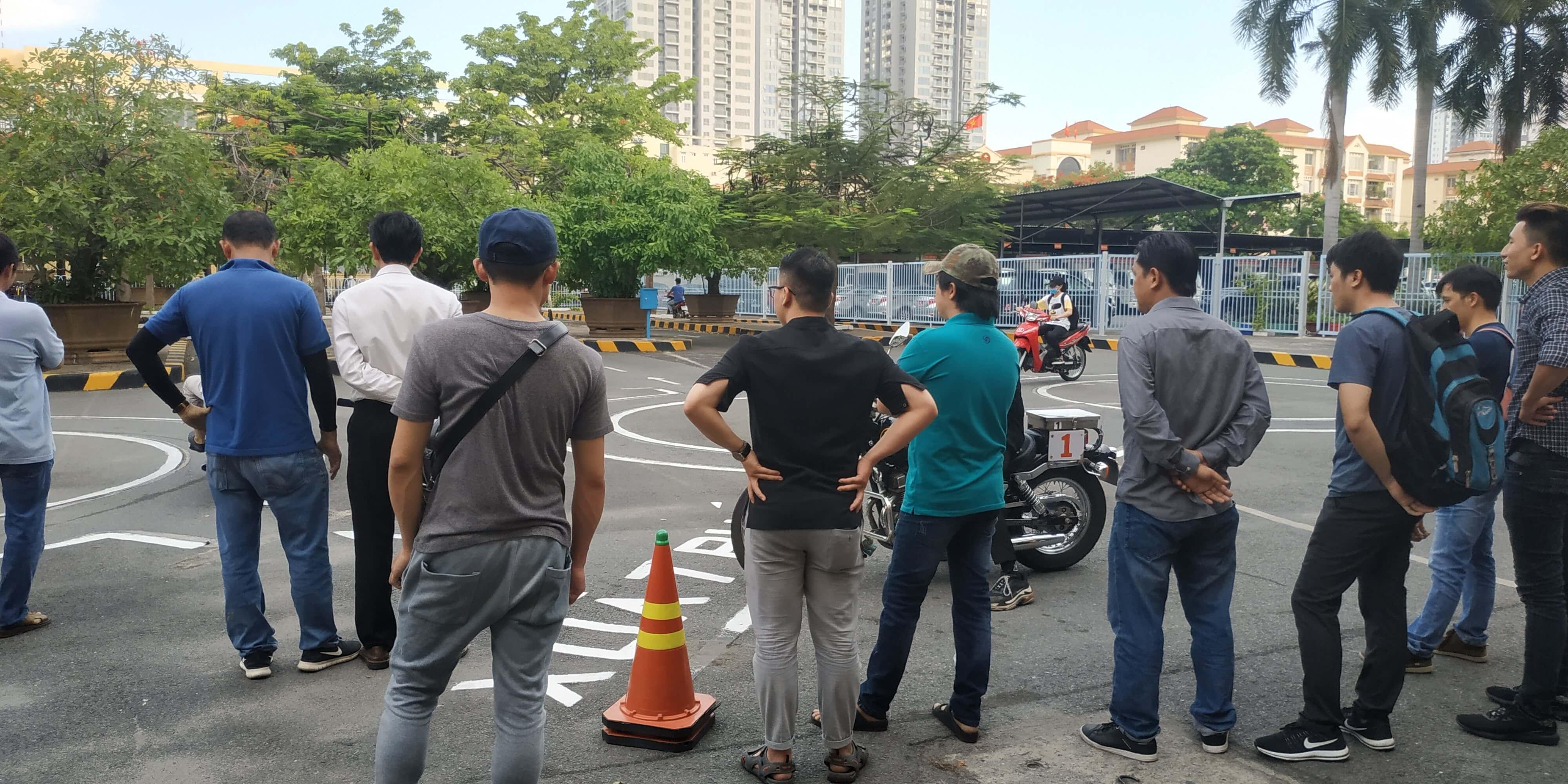 Trung tâm tổ chức thi bằng lái xe mô tô A2 tại Quận Gò Vấp