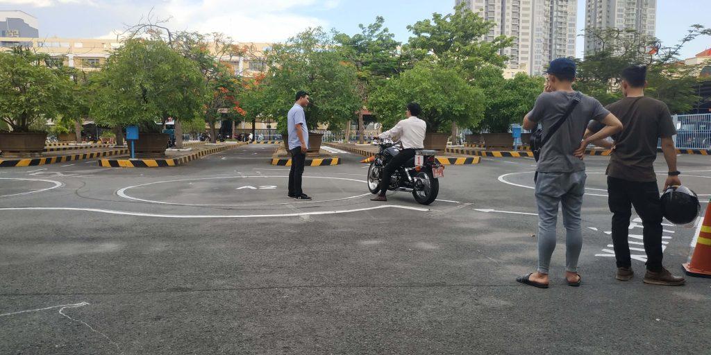 Kinh nghiệm thi bằng lái xe mô tô A2