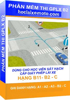 Đề thi thử bằng lái xe B2 trực tuyến
