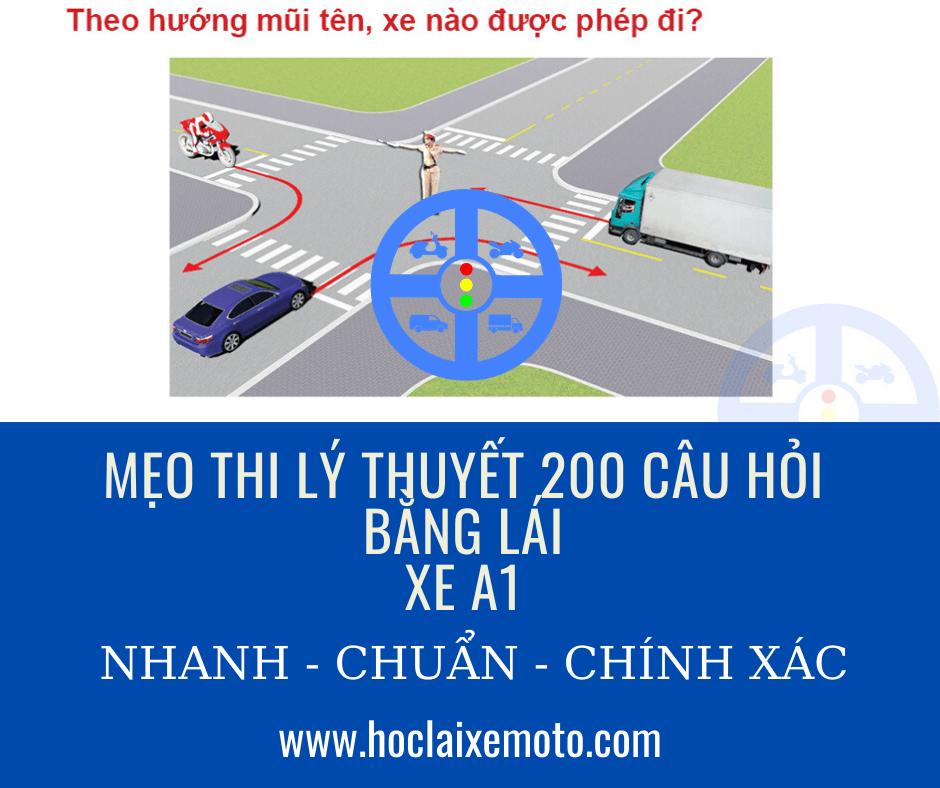 MẹoMẹo Thi Bằng Lái Xe Máy A1 200 Câu Hỏi - Mới Nhất Năm 2020 Thi Bằng Lái Xe Máy A1 200 Câu Hỏi - Mới Nhất Năm 2020